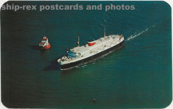 BLUENOSE (1956a, Canadian National) postcard (a1)